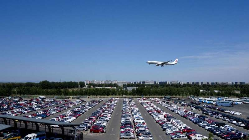 How to look for parking at Manchester airport