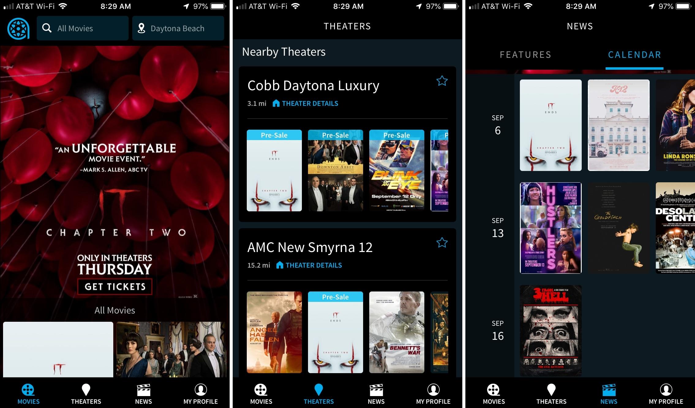 Atom app iPhone