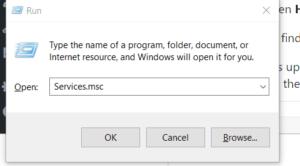Solve error 80072EE2 using service.msc