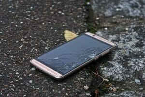 android cracked screen