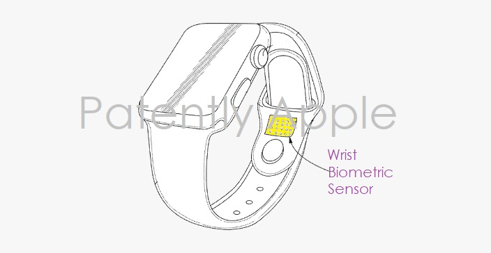 Apple patents detail Apple Watch bands with skin texture authentication and more