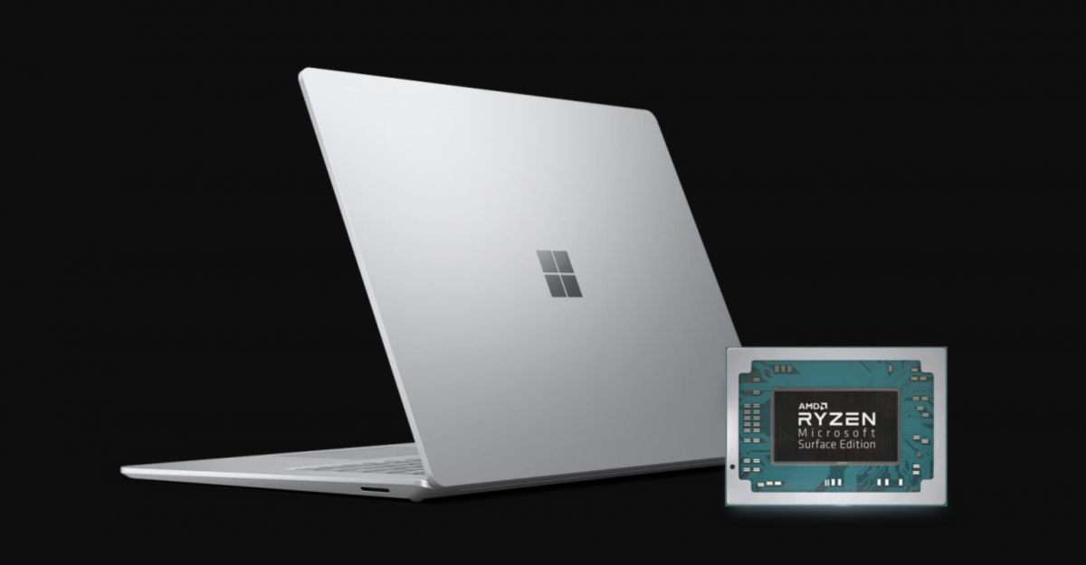 Taking a look at the AMD Ryzen processor inside the Surface Laptop 3