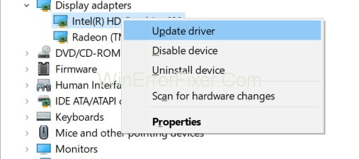 Update Computer Drivers to Fix Unexpected Store Exception