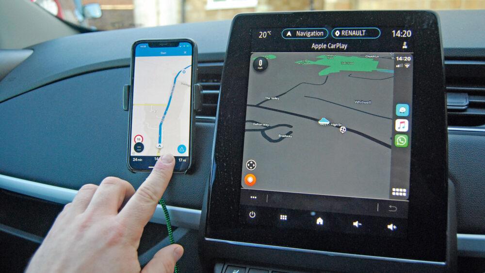 a Navigation Device
