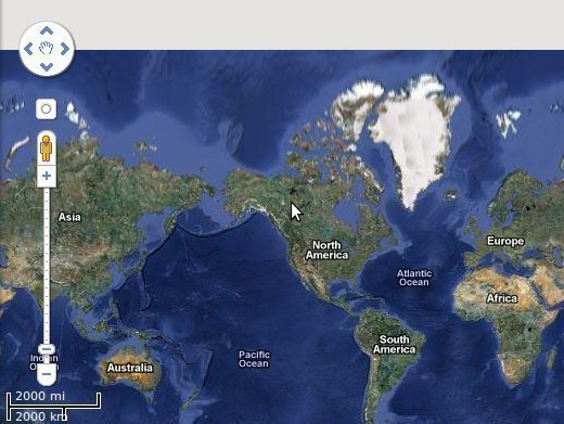 Google Earth Updated