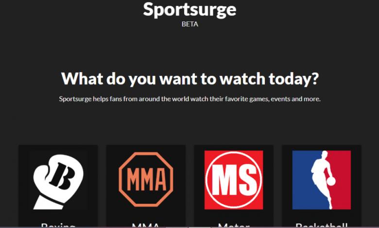 Sportsurge - Best Sports Stream Sites