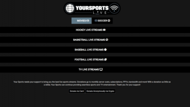 Photo of YourSports – Best Sports Stream Sites