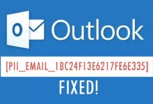 Photo of How to fixed [pii_email_1bc24f13e6217fe6e335] Error Code in Mail Outlook