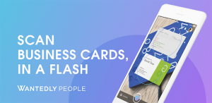 Wantedly People scan biz cards (Wantedly People)