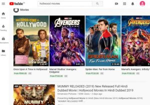 Youtube-hollywood-movies